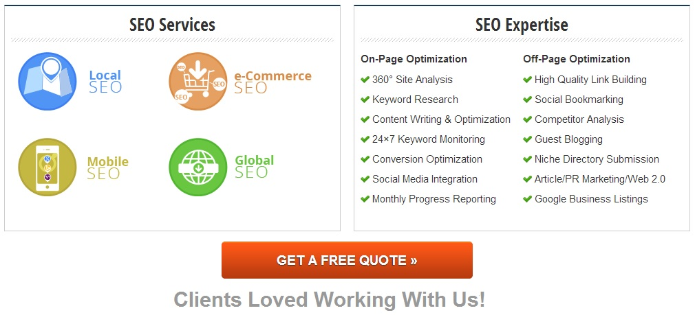 On Page Optimization SEO Services - Off Page Optimization SEO Services - Peer365 SEO Services